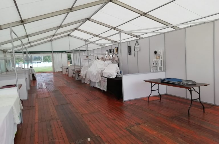 Shell Scheme hire lighting and power for marquee
