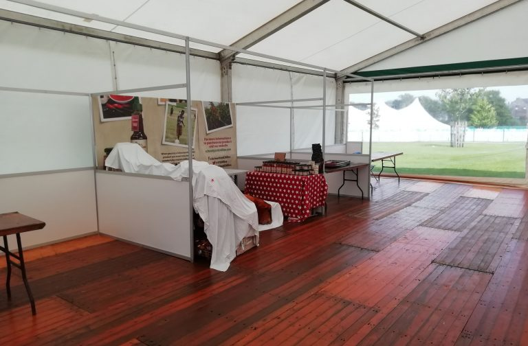equipment hire for marquee exhibition