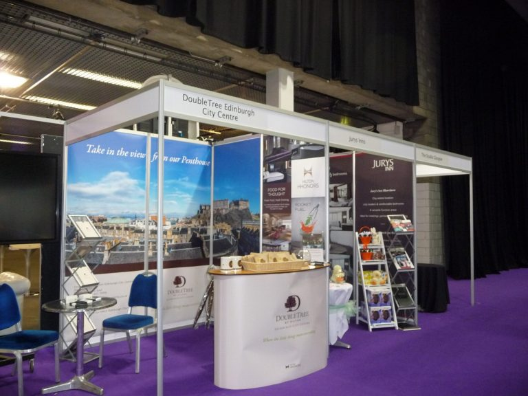 set up and shell scheme hire for event it exhibition