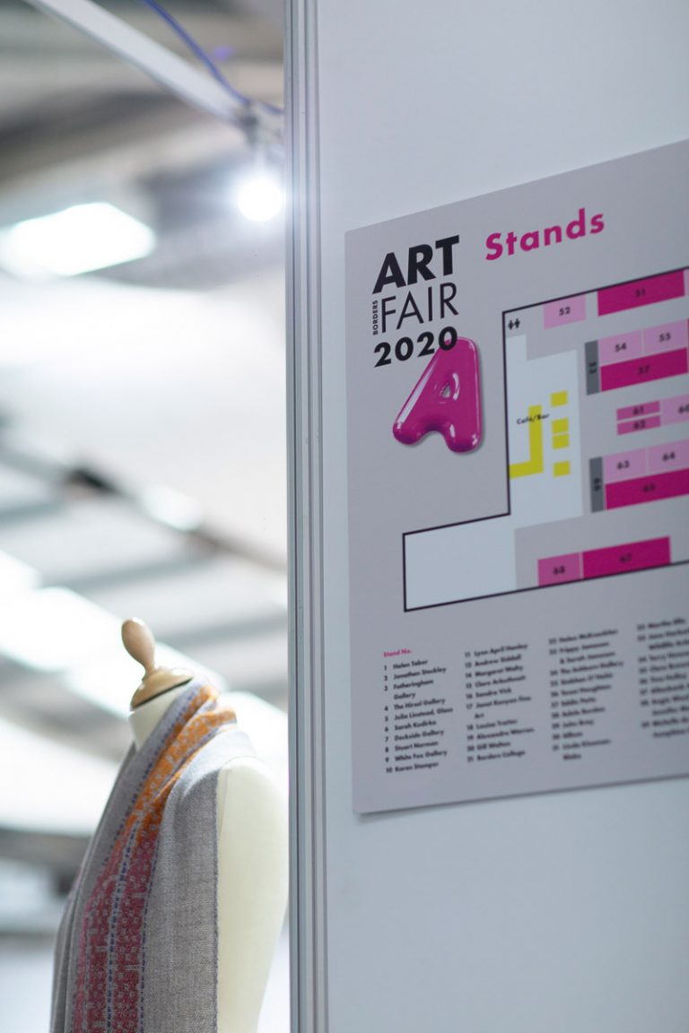 equipment hire and lighting and power set up for borders art fair