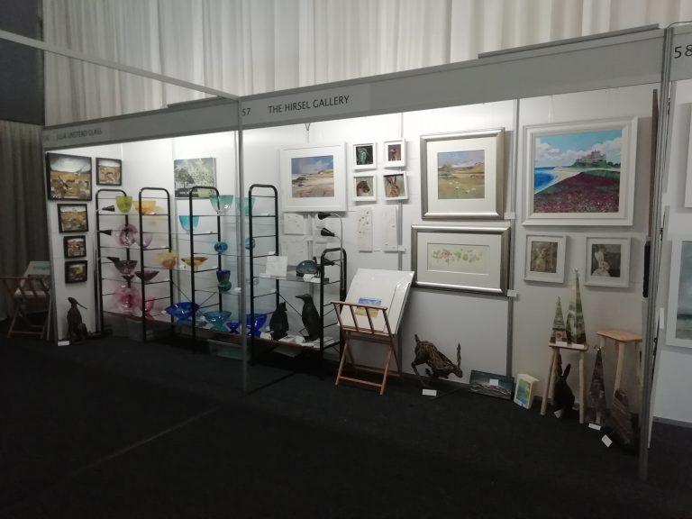 Borders Art Fair event set up