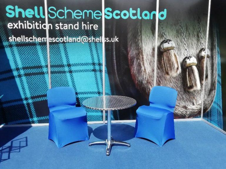 shell scheme equipment hire
