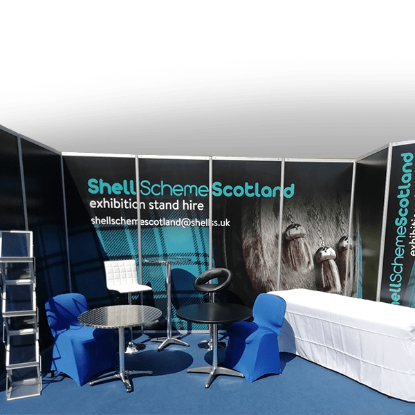 shell scheme hire and exhibition set up